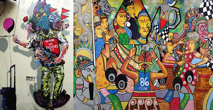 indonesie yogyakarta street art