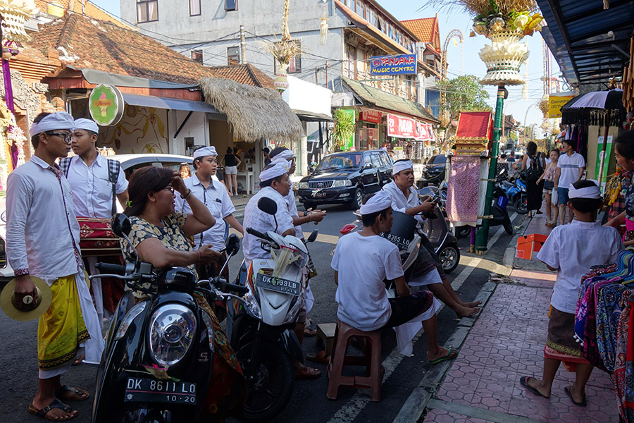 indonesie bali ubud galungan
