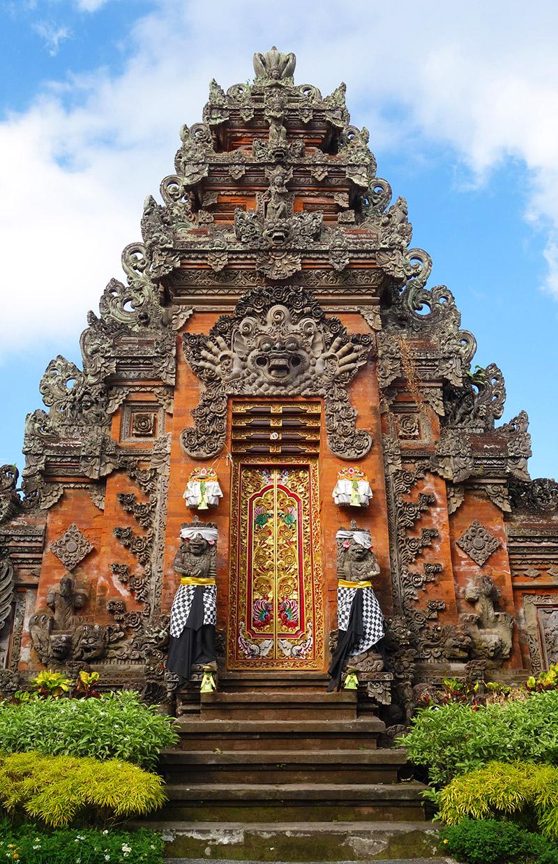 indonesie bali ubud porte temple