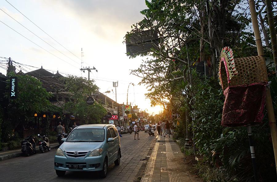 indonesie bali ubud rue street