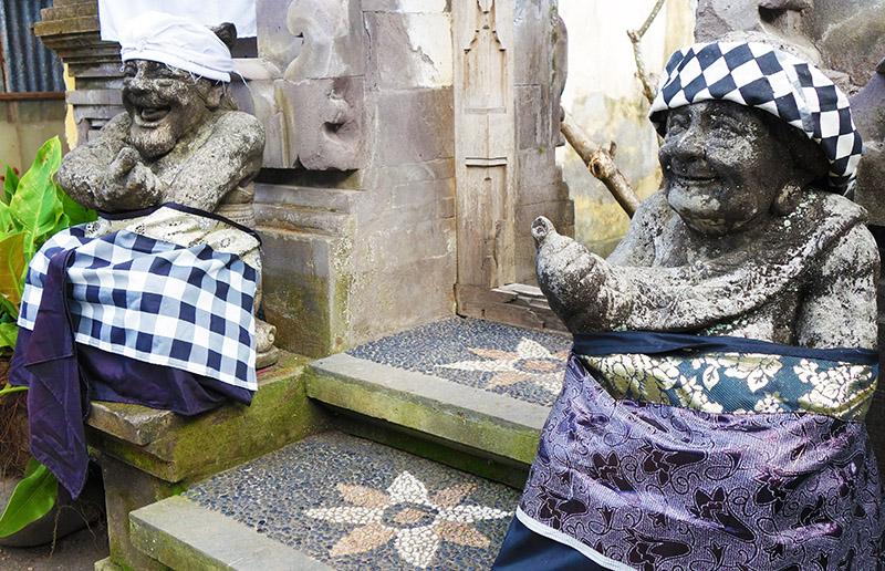 indonesie bali ubud statues