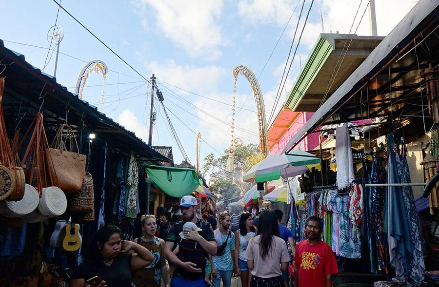 indonesie bali ubud street market