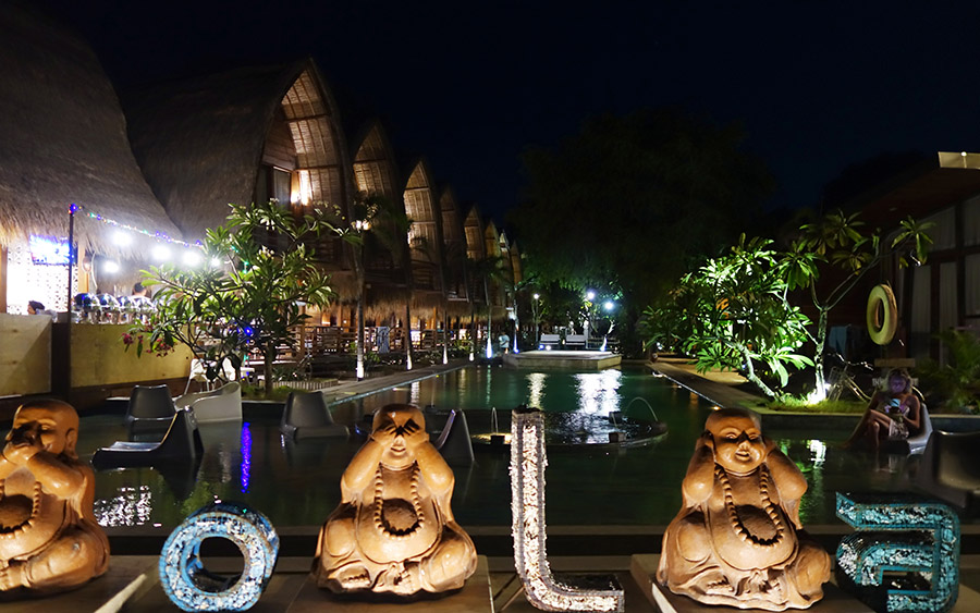 indonesie gili air by night