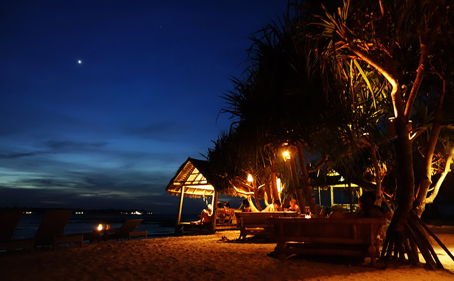 indonesie gili air by night