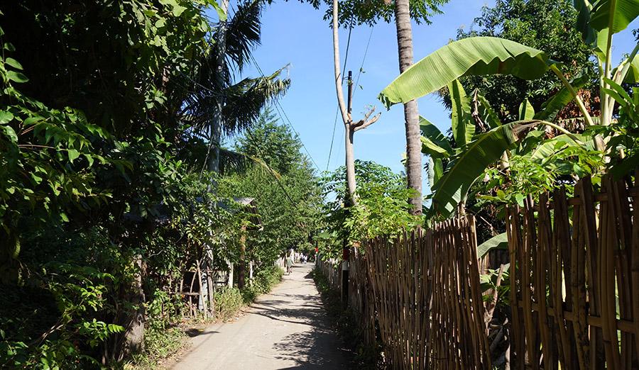 indonesie gili air rue street