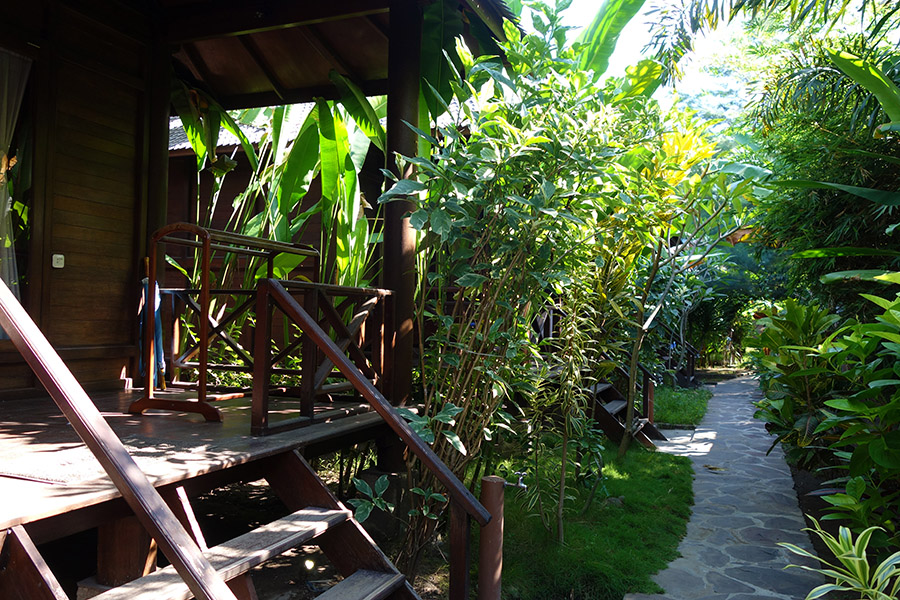 indonesie gili air turtle garden hotel