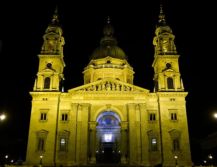 hongrie budapest basilique saint etienne pest