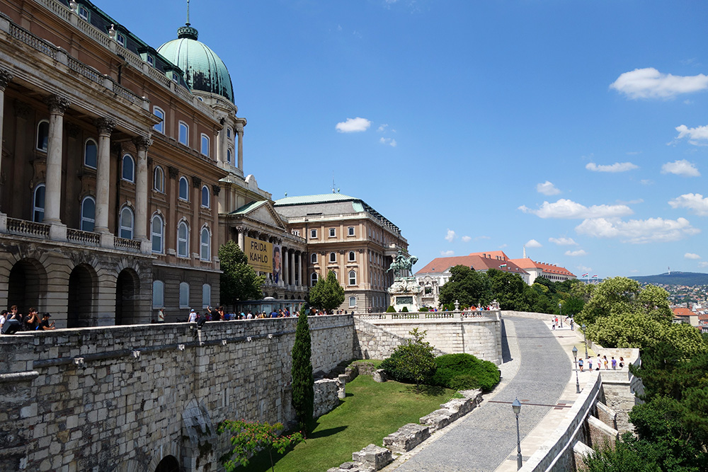 hongrie budapest chateau