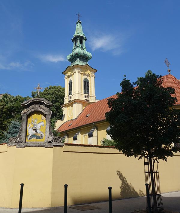 hongrie budapest eglise saint georges