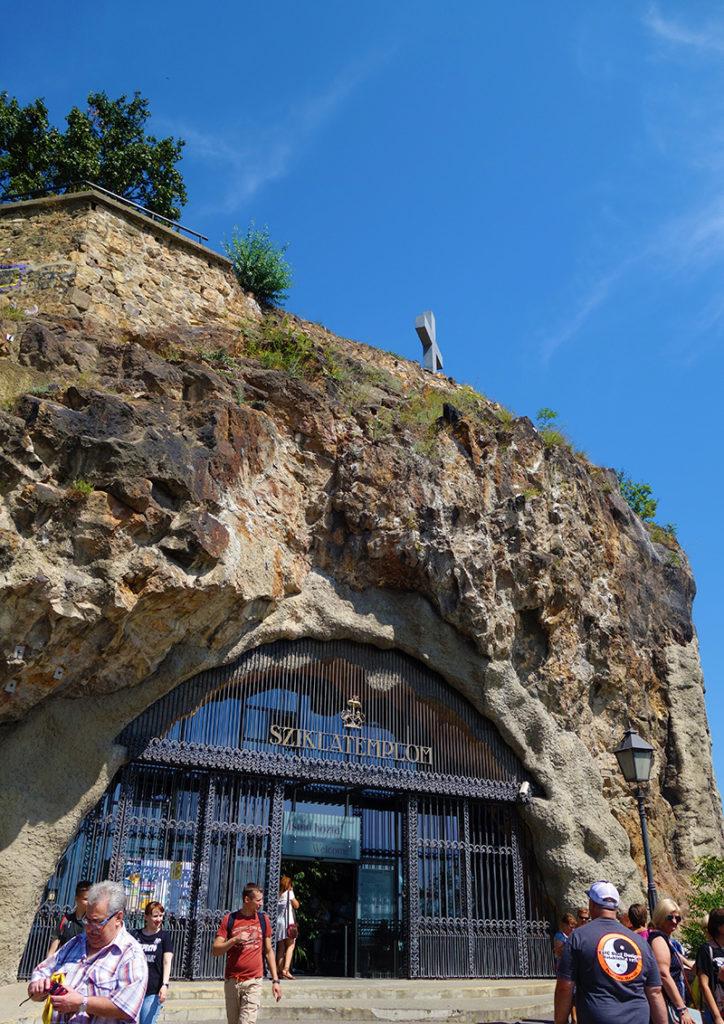 hongrie budapest eglise trglodyte sziklatemplom