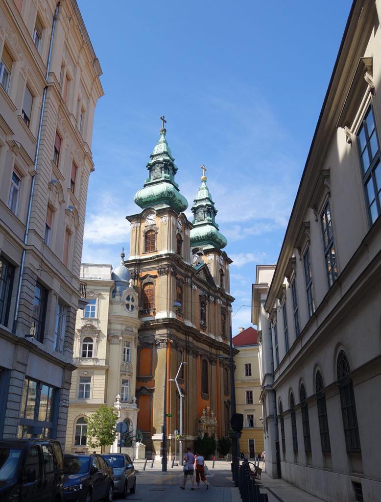 hongrie budapest eglise universite marie