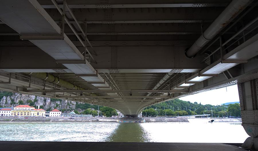 hongrie budapest elisabeth pont bridge danube