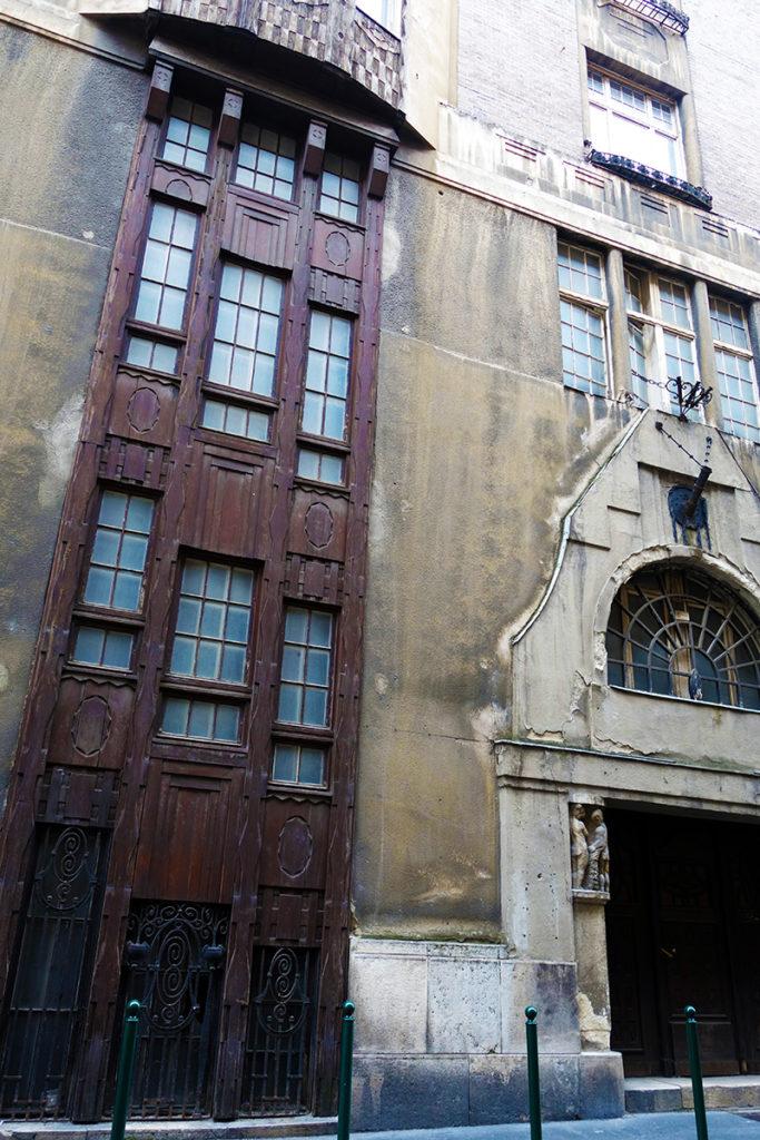 hongrie budapest facade rue sorhaz