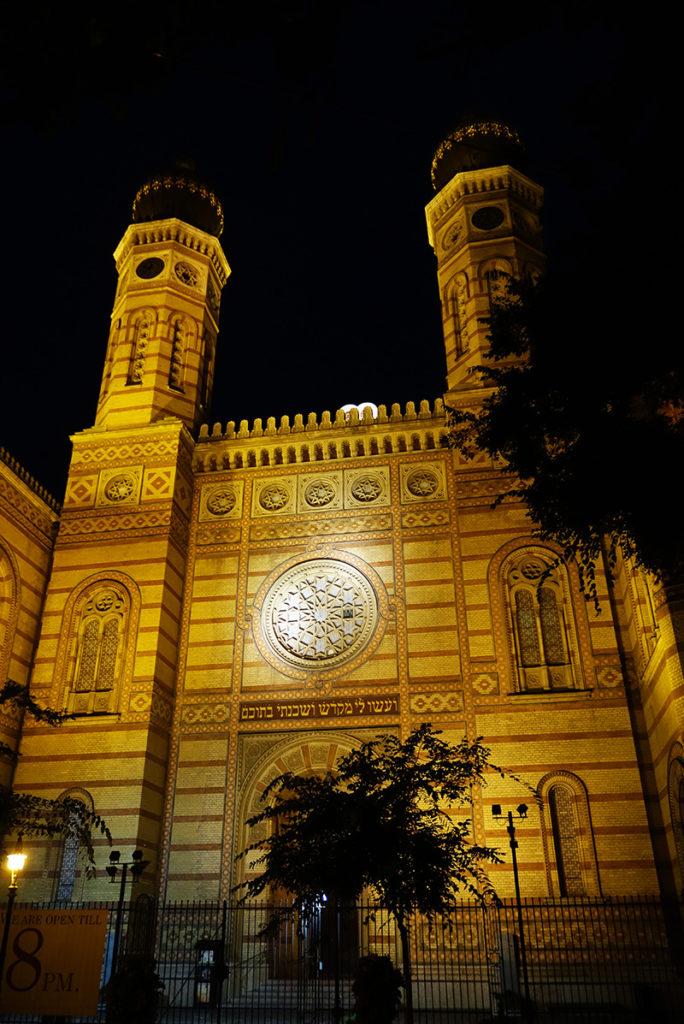 hongrie budapest grande synagogue