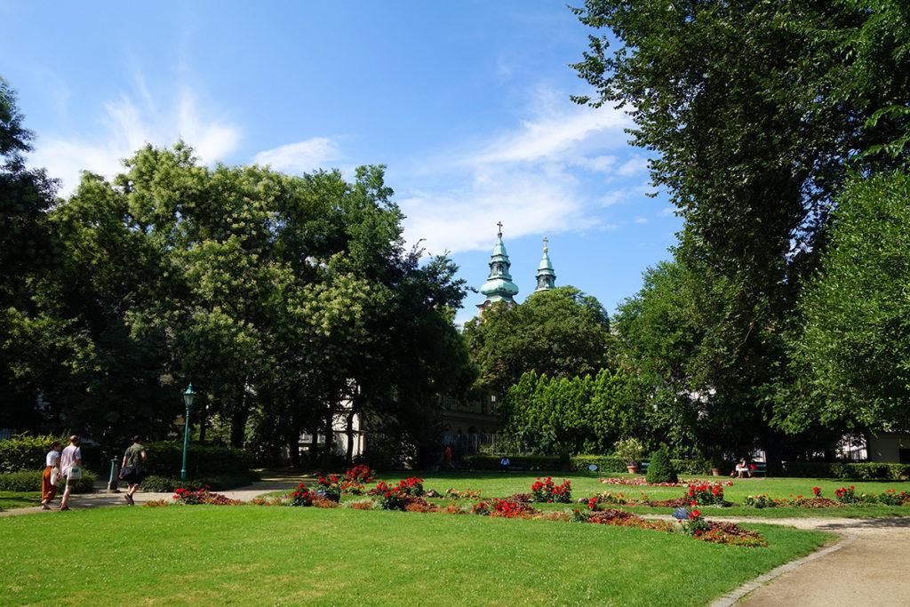 hongrie budapest karolyi jardin parc