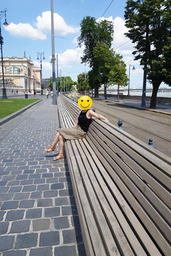 hongrie budapest long banc
