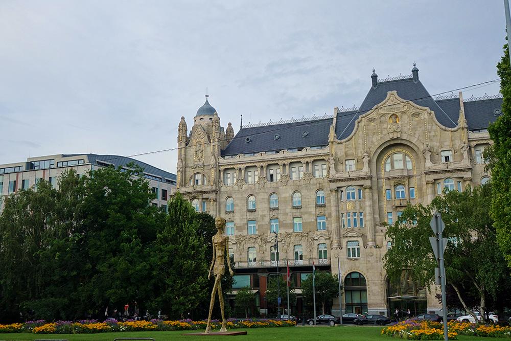hongrie budapest palais gresham