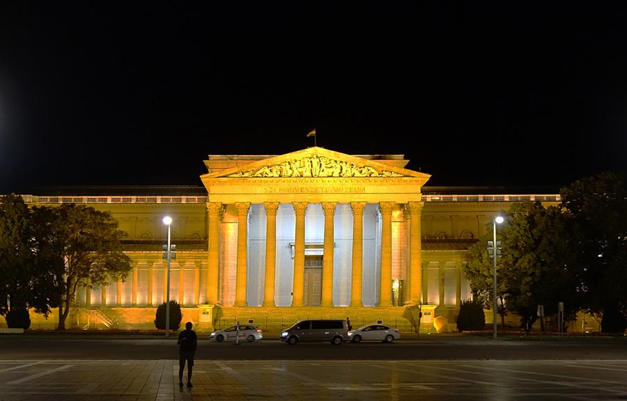 hongrie budapest place des heros monument du millenaire musee museum