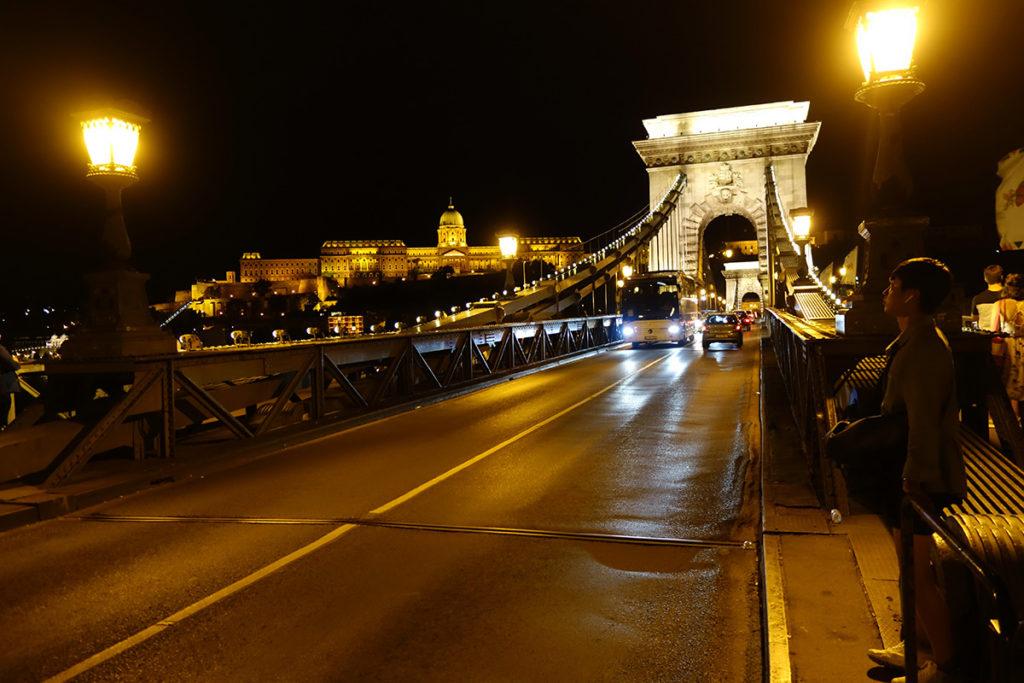 hongrie budapest pont des chaines
