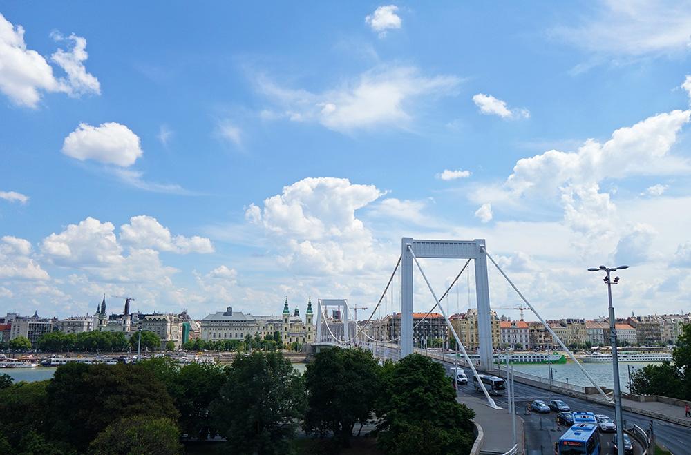 hongrie budapest pont elisabeth queen reine