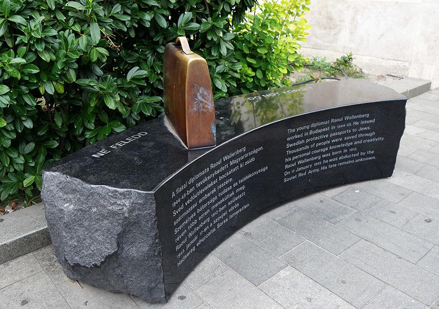 hongrie budapest raoul wallenberg memorial