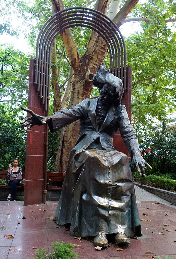 hongrie budapest statue franz liszt