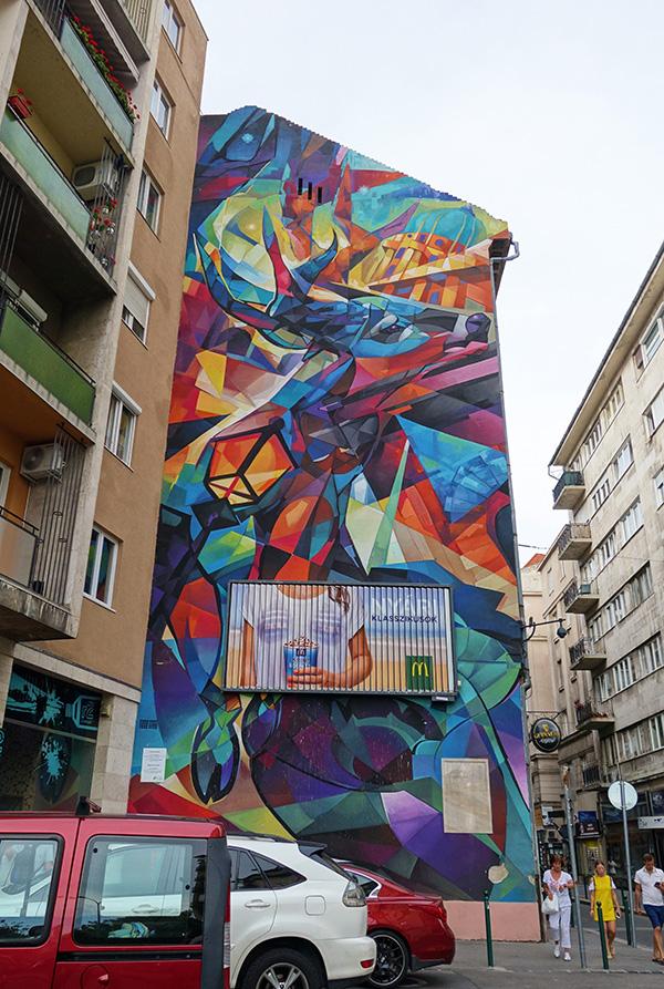 hongrie budapest street art