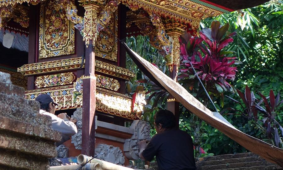 indonesie bali temple gunung kawi sebatu