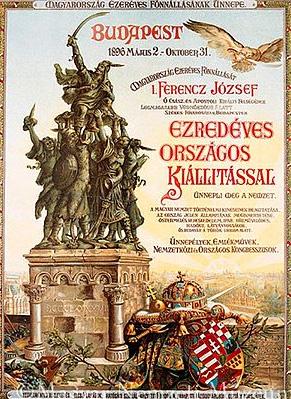 Budapest – Festivités du Millénaire 1896