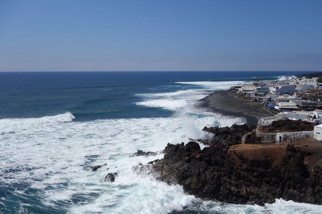 canaries lanzarote golfo village plage cote