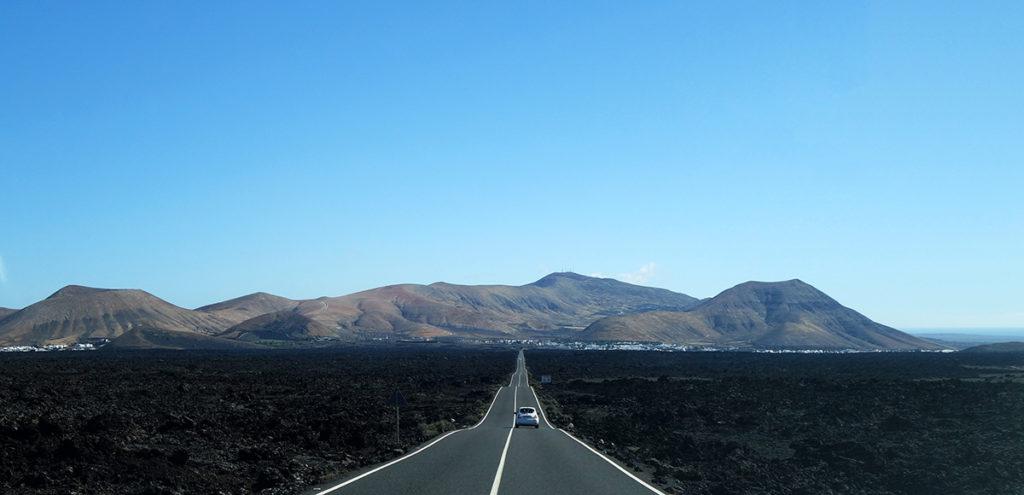 canaries lanzarote route lz-67 timanfaya volcans