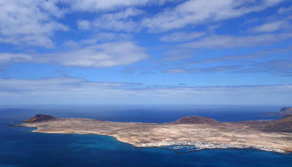 canaries lanzarote ile island graciosa