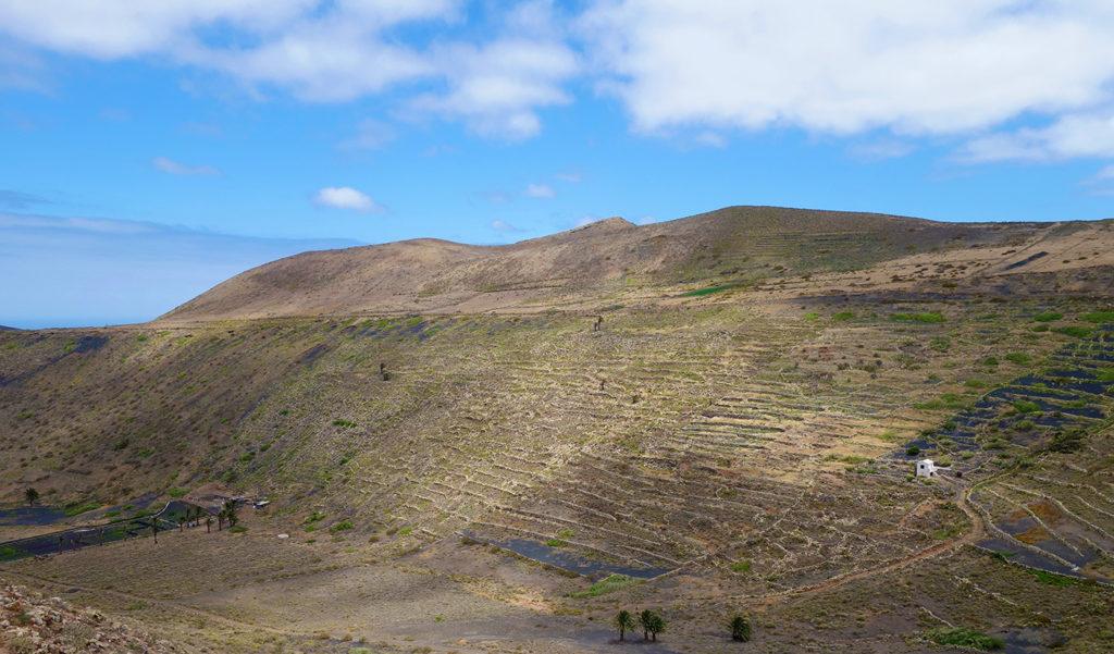 canaries lanzarote mirador vallee caldera falaises panorama ile
