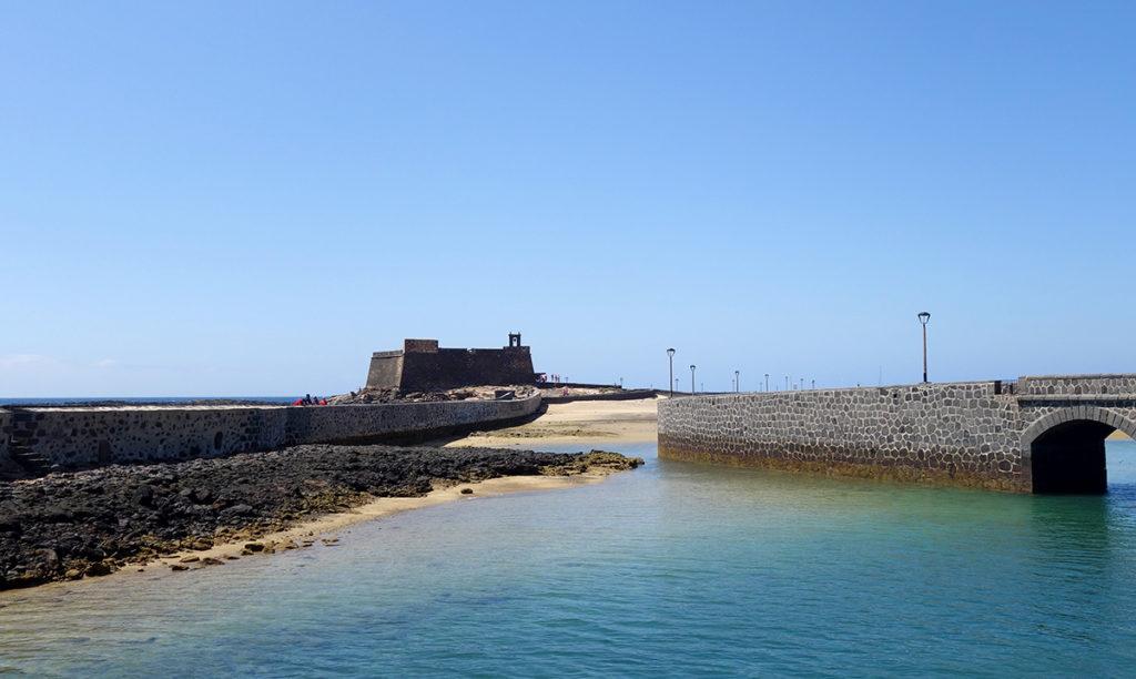 canaries lanzarote arrecife castillo san gabriel