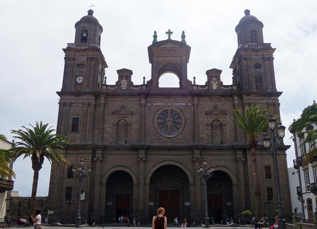 canaries gran canaria las palmas cathedrale santa ana