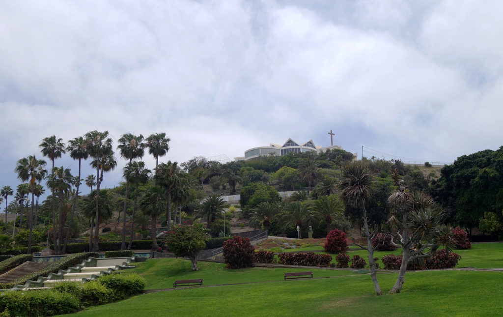 canaries gran canaria las palmas ciudad jardin parc