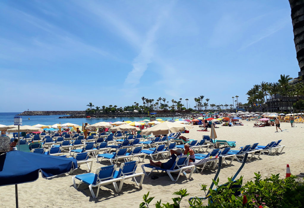 gran canaria anfi del mar plage playa beach