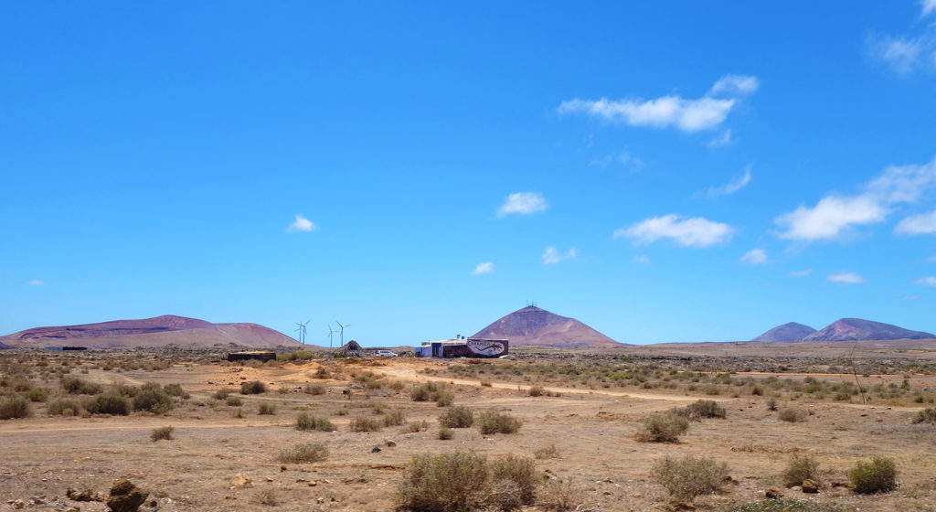 canaries lanzarote désert western desert