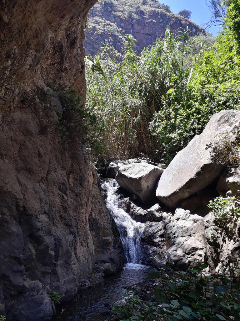 gran canaria canaries barranco de los cernicalos randonnée rando trekk balade nature cascade