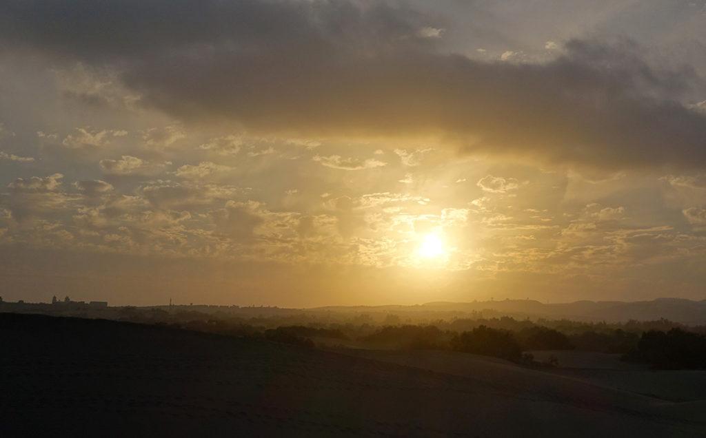 gran canaria maspalomas dunes sand parc nature coucher de soleil sunset
