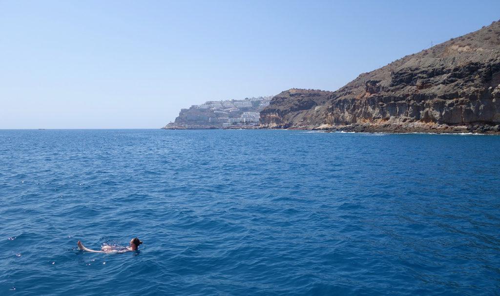 gran canaria canaries spirit of the sea mer ocean dauphin dolphin cetace balade baignade