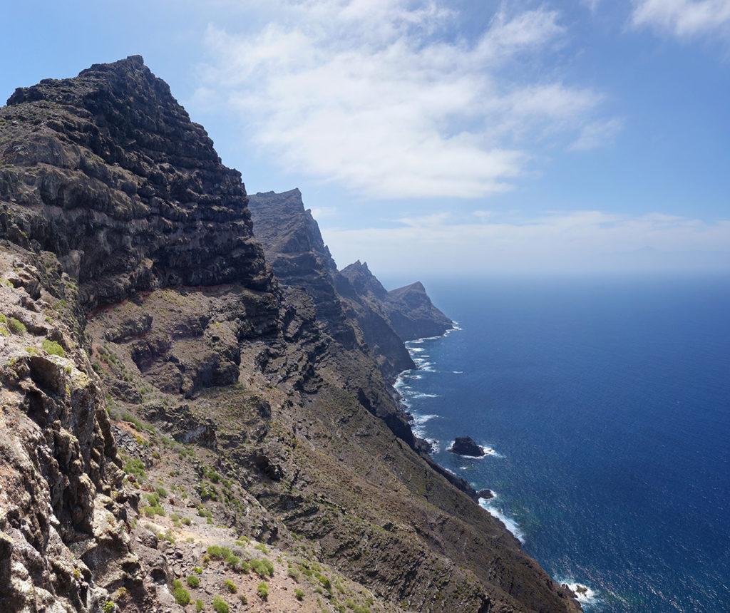 canaries gran canaria gc-200 route montagne falaise road mirador balcon panorama