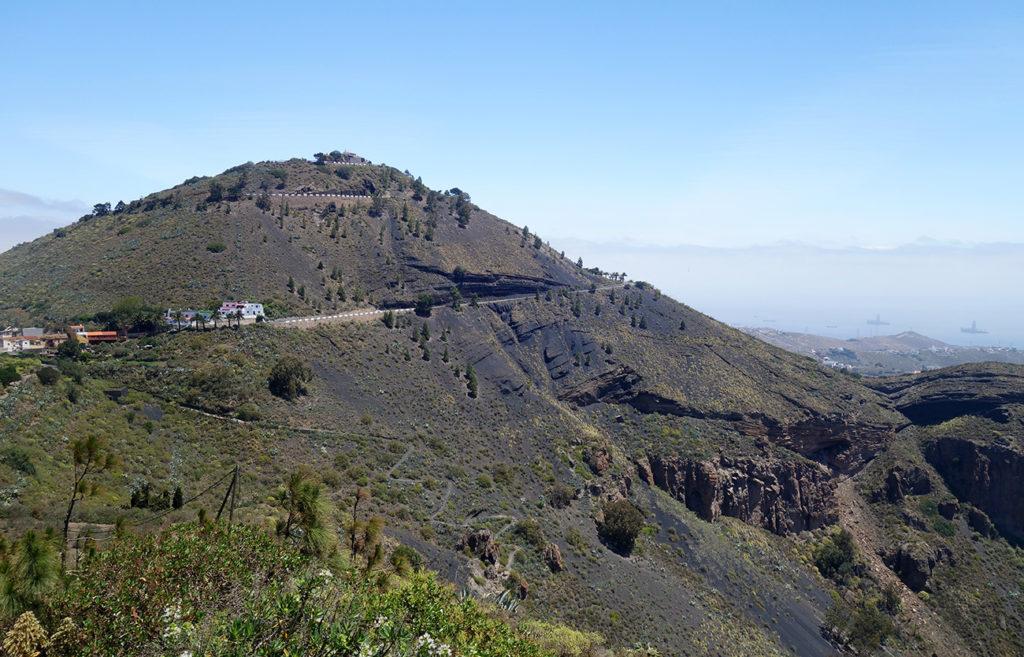 gran canaria canaries pico de bandama montagne volcan