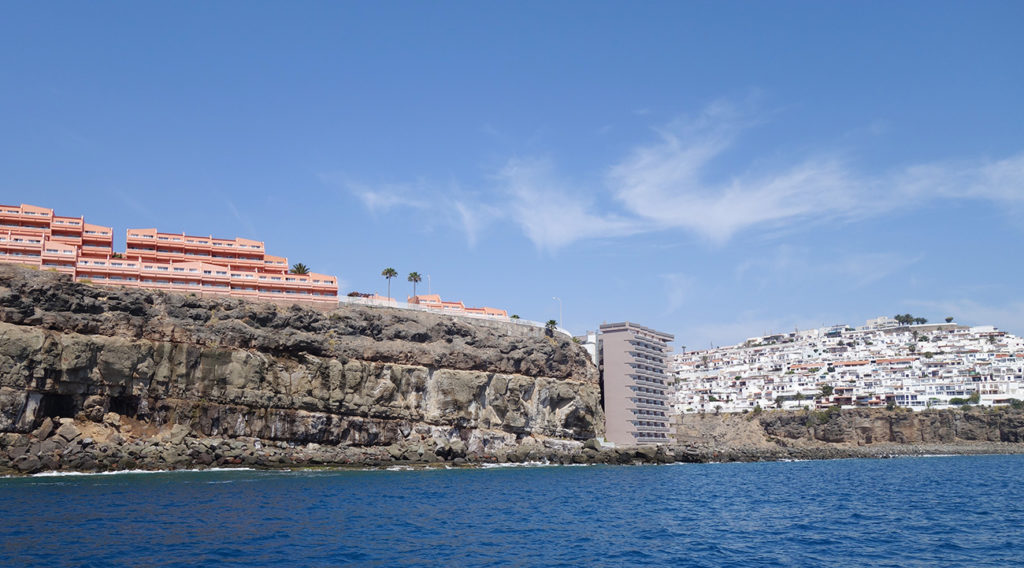 gran canaria canaries cote sud ile mer falaise hotels