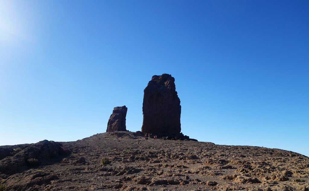 canaries gran canarie roque nublo nature paysage