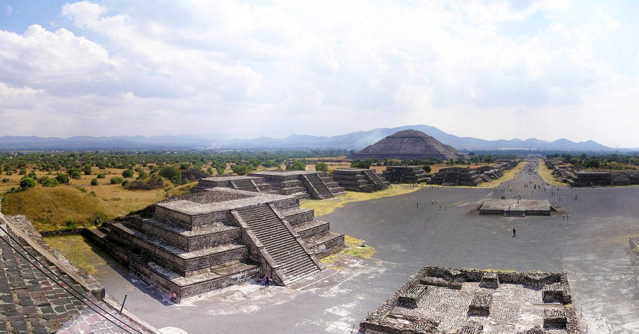 Le site de Teotihuacán au Mexique, un lieu chargé de mystères