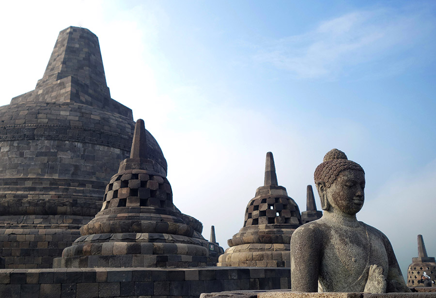 Jour 2 – Yogyakarta – Borobudur – Prambanan