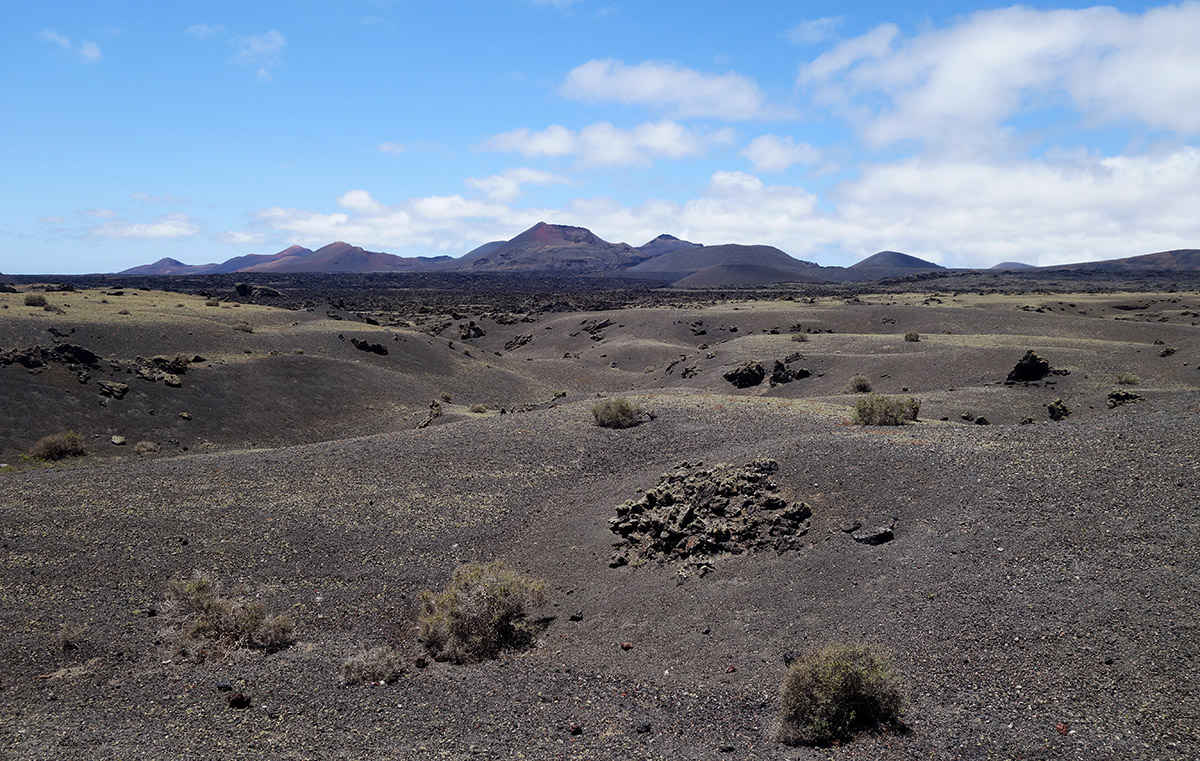 Lanzarote – Parc Naturel des volcans (Los Volcanes)