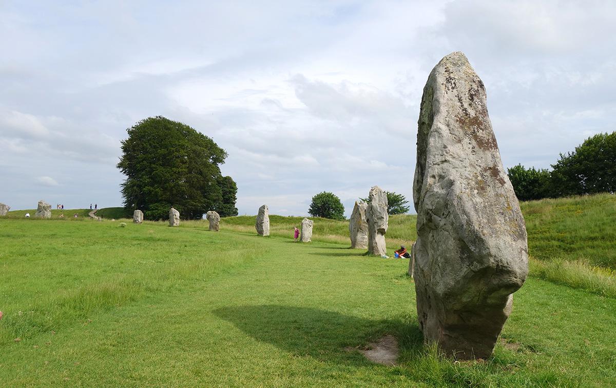 Le site mégalithique d'Avebury